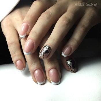 Акция: маникюр с гель-лаком - дизайн 2 ногтей в подарок