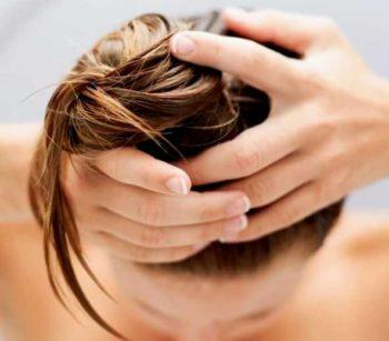 Массаж при мытье волос фото