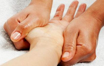 линии массажа рук фото
