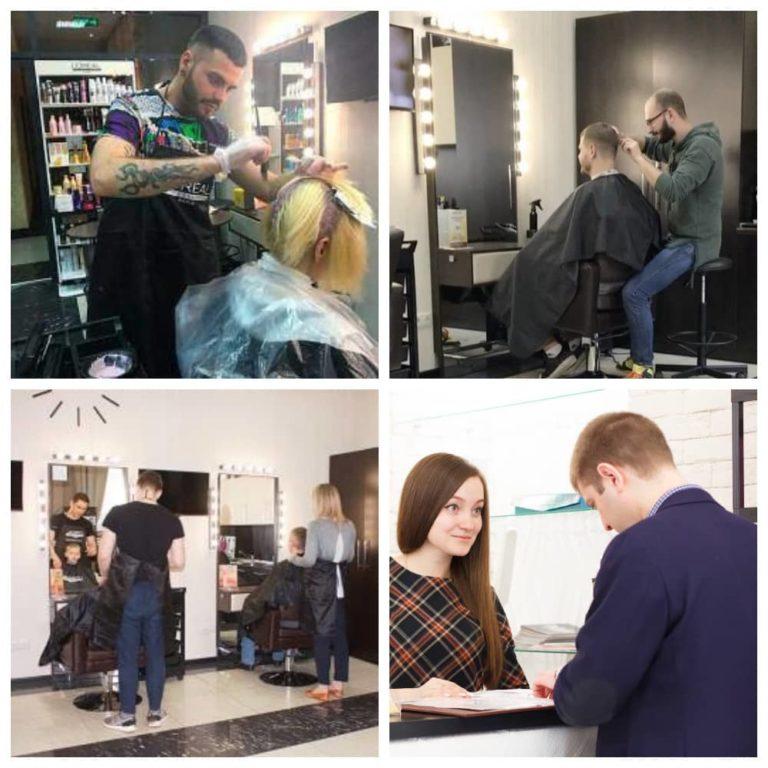 фото Мужская парикмахерская в Москве