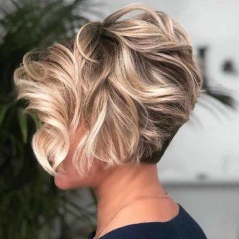 фото Укладки коротких волос Familyart
