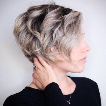 фото Укладки коротких волос в студии красоты