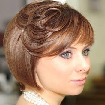 фото Укладки коротких волос в Москве