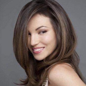 фото стрижка лесенка на длинные волосы