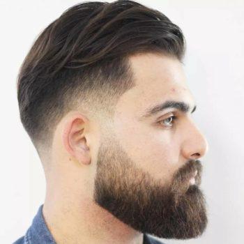 фото Уход за бородой в барбершопе