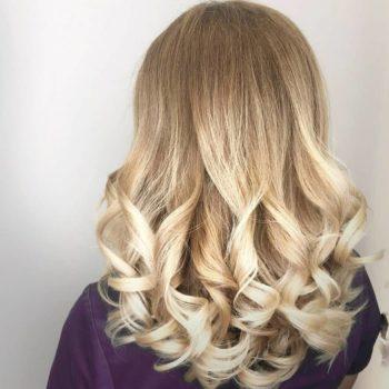 фото Укладки волос в салоне красоты