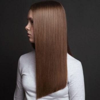 фото длинные женские стрижки Familyart