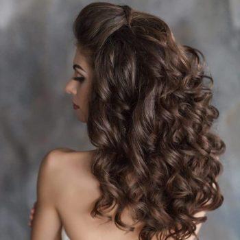 фото Укладки длинных волос Familyart