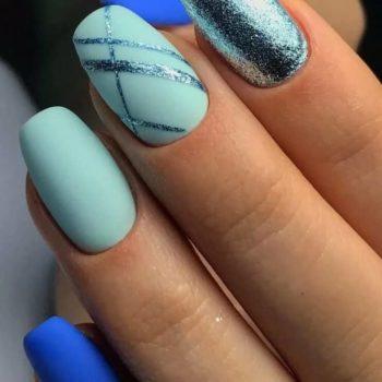 фото Полоски на ногтях недорого