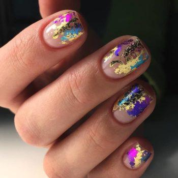 фото Фольга для ногтей на Серпуховской