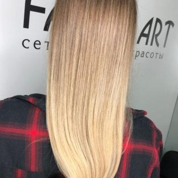 фото Коллагенирование волос в салоне красоты