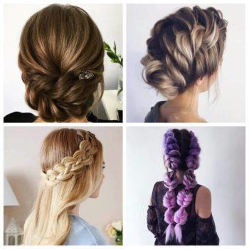 фото Плетение кос в салоне красоты