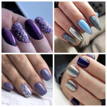 фото Глиттер для ногтей в салоне красоты