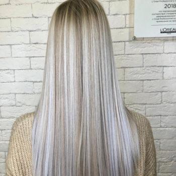фото Коллагенирование волос в парикмахерской